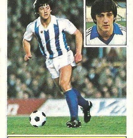 Liga 81-82. Bakero (Real Sociedad). Ediciones Este.