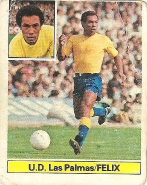 Liga 81-82. Felix (U.D. Las Palmas). Ediciones Este.