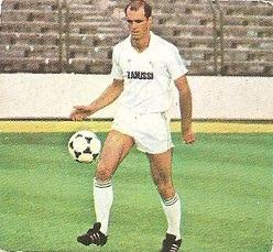 Liga 82-83. Fichaje Nº 8 Metgod (Real Madrid). Ediciones Este.