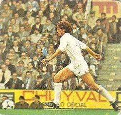Liga 82-83. Moreno (Valencia C.F.) Ediciones Este.
