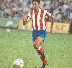 Liga 82-83. Pedro Pablo (At. Madrid). Ediciones Este.