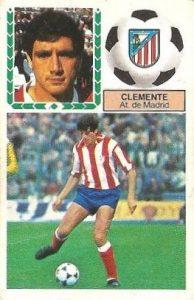 Liga 83-84. Clemente (Atlético de Madrid). Ediciones Este.
