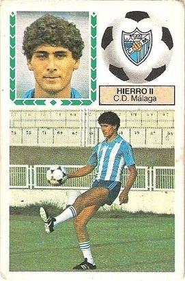 Liga 83-84. Hierro II (C.D. Málaga). Ediciones Este.