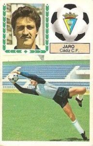 Liga 83-84. Jaro (Cadiz C.F.). Ediciones Este.
