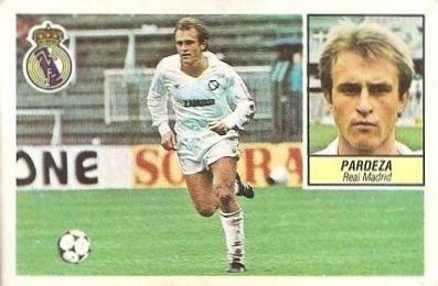 Liga 84-85. Pardeza (Real Madrid). Ediciones Este.
