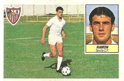Liga 84-85. Ramón (Sevilla C.F.). Ediciones Este.