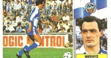 Liga 86-87. Merayo (Centro de Deportes Sabadell). Ediciones Este.