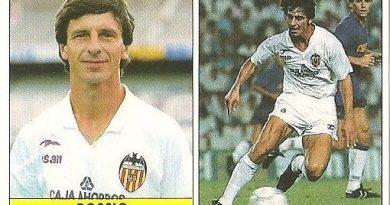 Liga 87-88. Bossio (Valencia C.F.). Ediciones Festival.