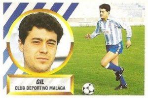Liga 88-89. Gil (C.D. Málaga). Ediciones Este.