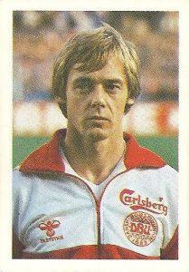 Eurocopa 1984. Bertelsen (Dinamarca) Editorial Fans Colección.