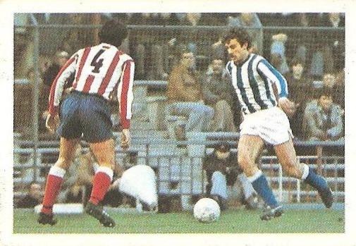 Liga 80-81. Satrustegui (Real Sociedad) Futbolistas en Acción Nº 32. Ediciones Este.