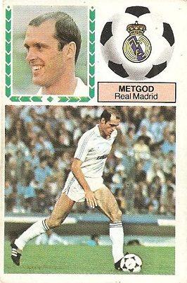 Liga 83-84. Metgod (Real Madrid). Ediciones Este.
