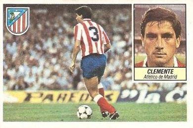 Liga 84-85. Clemente (Atlético de Madrid). Ediciones Este.