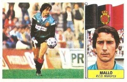 Liga 86-87. Mallo (R.C.D. Mallorca). Ediciones Este.
