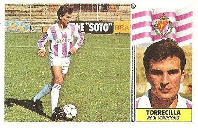 Liga 86-87. Torrecilla (Real Valladolid). Ediciones Este.