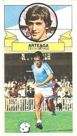 Liga 85-86. Arteaga (Real Club Celta de Vigo). Ediciones Este.