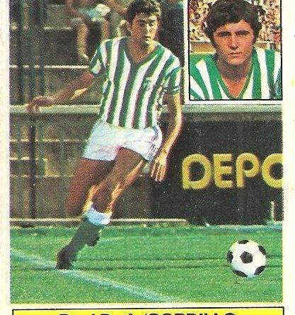 Liga 81-82. Gordillo (Real Betis). Ediciones Este.