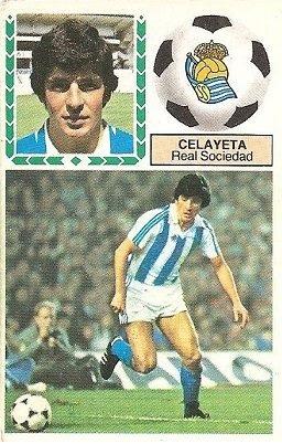 Liga 83-84. Celayeta (Real Sociedad). Ediciones Este.