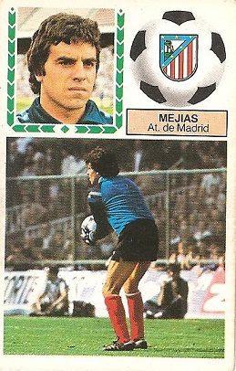 Liga 83-84. Mejias (Atlético de Madrid). Ediciones Este.
