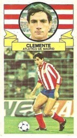 Liga 85-86. Clemente (Atlético de Madrid). Ediciones Este.