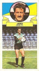 Liga 85-86. Jaro (Cádiz C.F.). Ediciones Este.