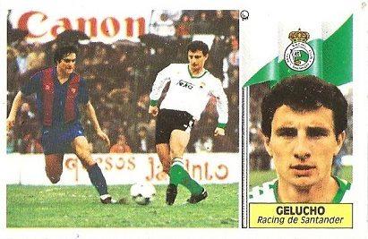 Liga 86-87. Gelucho (Racing de Santander). Ediciones Este.