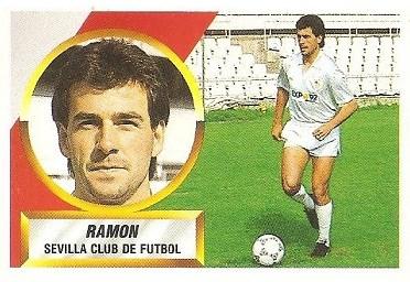 Liga 88-89. Ramón (Sevilla C.F.). Ediciones Este.