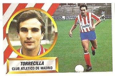 Liga 88-89. Torrecilla (Atlético de Madrid). Ediciones Este.