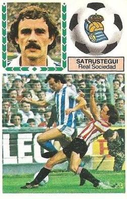 Liga 83-84. Satrustegui (Real Sociedad). Ediciones Este.