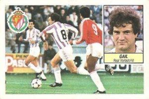 Liga 84-85. Gail (Real Valladolid). Ediciones Este.