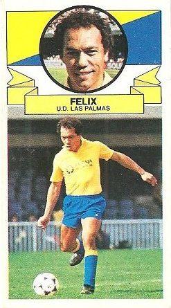 Liga 85-86. Felix (U.D. Las Palmas). Ediciones Este.