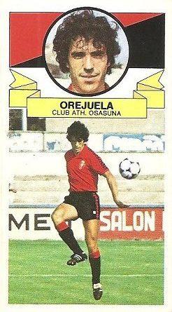 Liga 85-86. Orejuela (Club Atlético Osasuna). Ediciones Este.