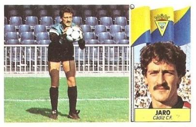 Liga 86-87. Jaro (Cádiz C.F.). Ediciones Este.