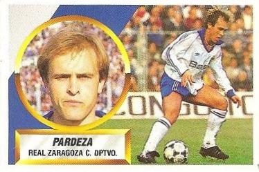 Liga 88-89. Pardeza (Real Zaragoza). Ediciones Este.