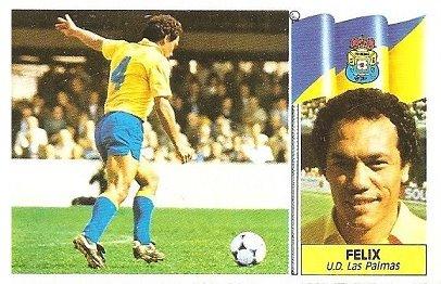 Liga 86-87. Felix (U.D. Las Palmas). Ediciones Este.