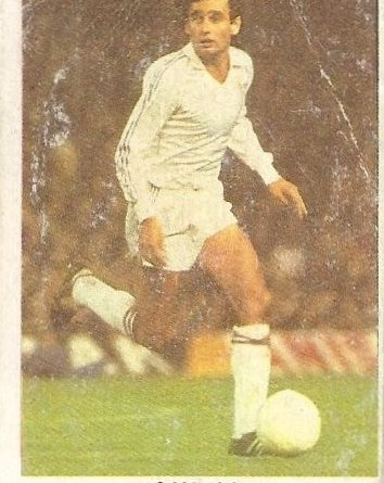 Fútbol 84. Gallego (Real Madrid). Cromos Cano.