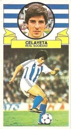 Liga 85-86. Celayeta (Real Sociedad). Ediciones Este.