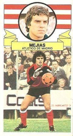 Liga 85-86. Mejías (Atlético de Madrid). Ediciones Este.