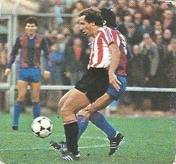 Liga 82-83. Liceranzu (Ath. Bilbao). Ediciones Este.