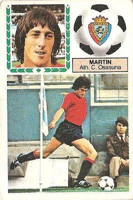 Liga 83-84. Martín (Club Atlético Osasuna). Ediciones Este.