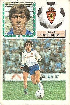 Liga 83-84. Salva (Real Zaragoza). Ediciones Este.