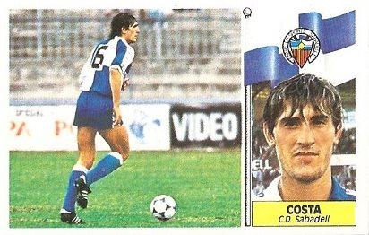 Liga 86-87. Costa (Centro de Deportes Sabadell). Ediciones Este.