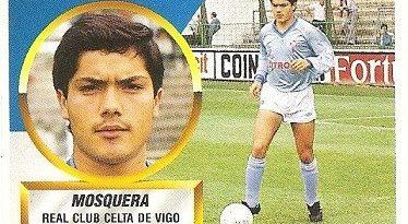 Liga 88-89. Mosquera (Real Club Celta de Vigo). Ediciones Este.