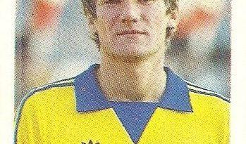 Eurocopa 1984. Bölöni (Rumanía) Editorial Fans Colección.