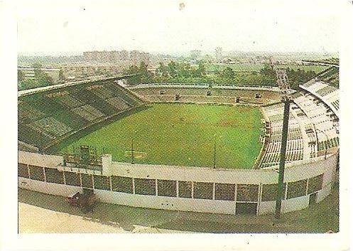 Trideporte 84. Estadio Benito Villamarín (Real Betis). Editorial Fher.