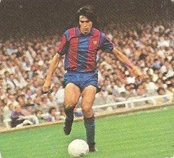 Liga 82-83. Carrasco (F.C. Barcelona). Ediciones Este.