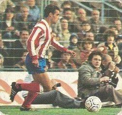 Liga 82-83. Quique (At. Madrid). Ediciones Este.