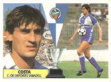 Liga 87-88. Costa (Centro de Deportes Sabadell). Ediciones Este.