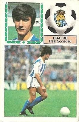 Liga 83-84. Uralde (Real Sociedad). Ediciones Este.