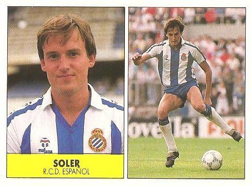 Liga 87-88. Soler (R.C.D. Español). Ediciones Festival.
